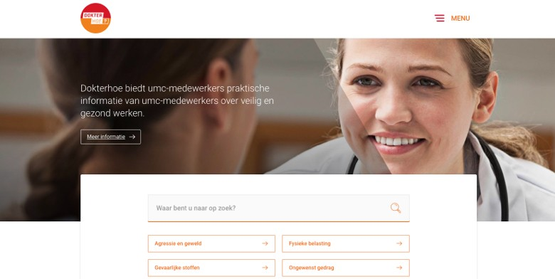 Dokterhoe website
